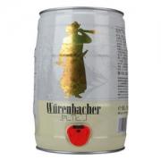 Wurenbacher 瓦伦丁 小麦啤酒 5L 单桶  *2件