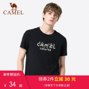 Camel/骆驼 夏季新款圆领T恤 券后¥29¥29