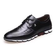 稻草人 男士休闲皮鞋