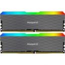 Asgard 阿斯加特 洛极W2 RGB 3200频率 DDR4 台式机内存条 16GB(8Gx2) 599元包邮599元包邮