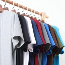 84色可选:大角鹿 男夏季宽松冰丝短袖T恤16.9元包邮