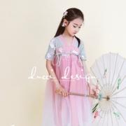小兔桔子 新款汉服女童网纱长裙连衣裙 券后¥79¥79