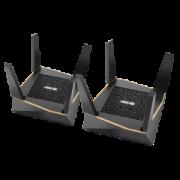 ASUS 华硕 AiMesh AX6100 三频无线路由器系统 (双 RT-AX92U 套装)