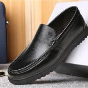 中老年套脚皮鞋软底透爸爸鞋休闲鞋 券后¥49¥49