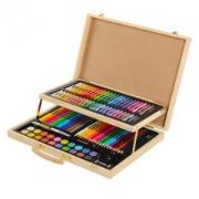 KIDDYCOLOR 凯蒂卡乐 美术绘画礼盒 106件双层木盒套装