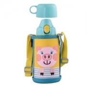 TIGER 虎牌 MBR-B06G 不锈钢直饮保温水杯 600ml 小猪 +凑单品