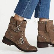 Sam Edelman Drea 女士真皮短靴 G0476L 3色