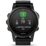 GARMIN 佳明 fenix5s飞耐时5s 智能手表 中文蓝宝石版 黑色 3980元包邮(10元定金)