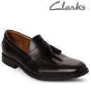 Clarks 其乐 Tilden Stride 男士真皮流苏乐福鞋 Prime会员免费直邮含税到手316.72元