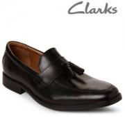 Clarks 其乐 Tilden Stride 男士真皮流苏乐福鞋 Prime会员免费直邮含税