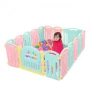 AOLE-HW 澳乐 AL-W16093004 婴儿家用室内游戏围栏14+2
