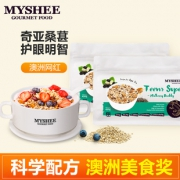 MYSHEE 麦食集 奇亚桑葚 水果坚果麦片 450g*2袋  券后88元包邮¥88