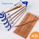 MARCO 马可 6001 书写铅笔 HB 12支 1.9元包邮(需用券)¥2
