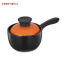 LINKFAIR 凌丰 LFNG-NM16DE 单柄陶瓷奶锅 16cm69元包邮(需用券)