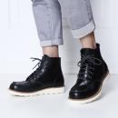 InteRight 男士哈雷工装靴  *3件 583.8元包邮(合194.6元/件)¥584