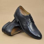 UK9码,Clarks 其乐 Kalden Edge 男士真皮烤花系带牛津鞋 Prime会员免费直邮含税