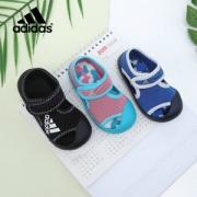adidas 阿迪达斯 儿童包头凉鞋