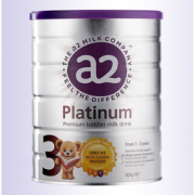 a2 艾尔 Platinum 白金版 婴幼儿奶粉 3段 900g  165.48元含税包邮
