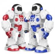 XINGYUCHUANQI 星域传奇 摩卡战警 遥控智能编程机器人 42厘米 蓝色 *3件