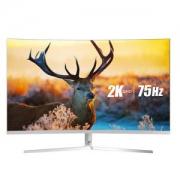 ViewSonic 优派 VX3258-2KC-HD-W 31.5英寸显示器(2K、1800R、88%NTSC)