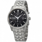 Citizen 西铁城 Corso 系列 CA7000-55E 银黑色男士气质腕表