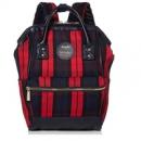 ANELLO 高密度涤纶迷你格纹口金 双肩背包 红色折后新低3200日元+37积分