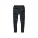 maxwin 女式梭织格纹九分裤9.9元