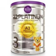 a2 艾尔 Platinum 白金版 婴幼儿奶粉 3段 900g *6件