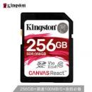Kingston 金士顿 Canvas React SDXC A1 UHS-I U3 SD存储卡 256GB 395元包邮395元包邮