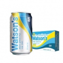 Watsons屈臣氏盐味苏打汽水330mlX28罐*28件88元包邮