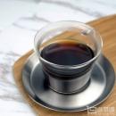 Kinto Cast系列 玻璃咖啡杯 带不锈钢托盘 220ml 23085 Prime会员凑单免费直邮含税到手97.63元