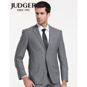JUDGER 庄吉 男士94.3%羊毛西服套装两件套 199元包邮(需用券)199元包邮(需用券)