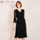 ANDREW MARC XFSW8GD226MNY 女士V领连衣裙 362元包邮(需用券,合181元/件)¥281