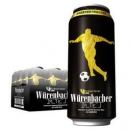 德国进口: Wurenbacher 瓦伦丁 黑啤酒 500ml 24听 109元包邮109元包邮