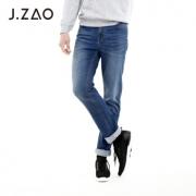 京造 男士基础合体直筒牛仔裤 *2件 158.4元(合79.2元/件)¥158