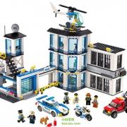 LEGO 乐高 City 城市系列 60141 警察总局