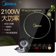 Midea 美的 C21-WK2102 电磁炉 179元包邮