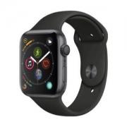 Apple 苹果 Apple Watch Series 4 智能手表(深空灰铝金属、GPS、44mm、黑色运动表带)