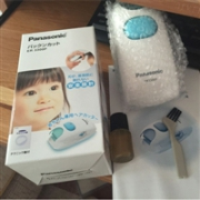 Panasonic松下宝宝理发器ER3300P-W 静音设计 白色