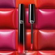 Giorgio Armani 阿玛尼  漆光迷情黑管唇釉*2支 多色 448元包邮