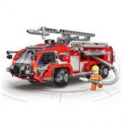 XINGBAO 星堡积木 XB-03028 机场消防车 69元包邮69元包邮
