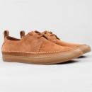 限UK7.5码,Clarks 其乐 kessell Craft 男士真皮休闲鞋 Prime会员免费直邮含税到手新低307.9元(国内¥909)