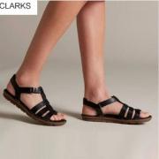 限US5码,Clarks 其乐 Blake Jewel 女士平跟凉鞋 Prime会员免费直邮含税