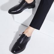 网易严选 男式轻雅暗纹牛皮休闲鞋 279元包邮