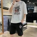 夏季新款短袖T恤男圆领休闲裤运动裤2件套 券后¥99¥99