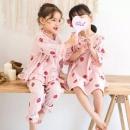 A类纯棉,玩乐猫 女童春夏薄款公主睡衣(90~170码) 多款39元包邮(需领券)