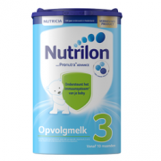 Nutrilon 诺优能 婴儿配方奶粉 3段 800g *6件  666.4元含税包邮666.4元含税包邮