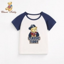 Classic Teddy 精典泰迪 2019夏季新款 儿童T恤 *4件 101.4元包邮(4件65折)101.4元包邮(4件65折)