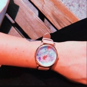 Timex 天美时 水晶花卉女士腕表 TW2R84300 Prime会员免费直邮含税