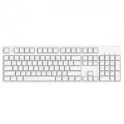 iKBC C104 104键 机械键盘 白色(Cherry银轴、PBT)